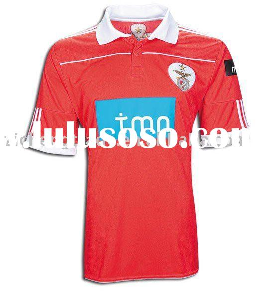 New Style Benfica Club 10-11 Home Soccer Jersey Uniform