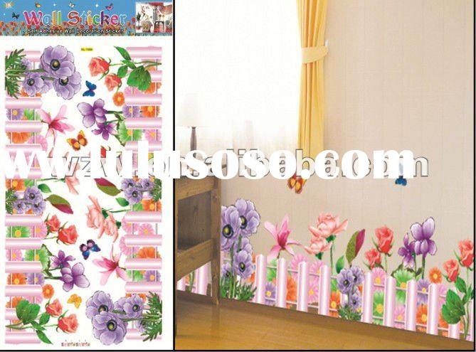 PVC or Paper Wall Stickers home decor for children room