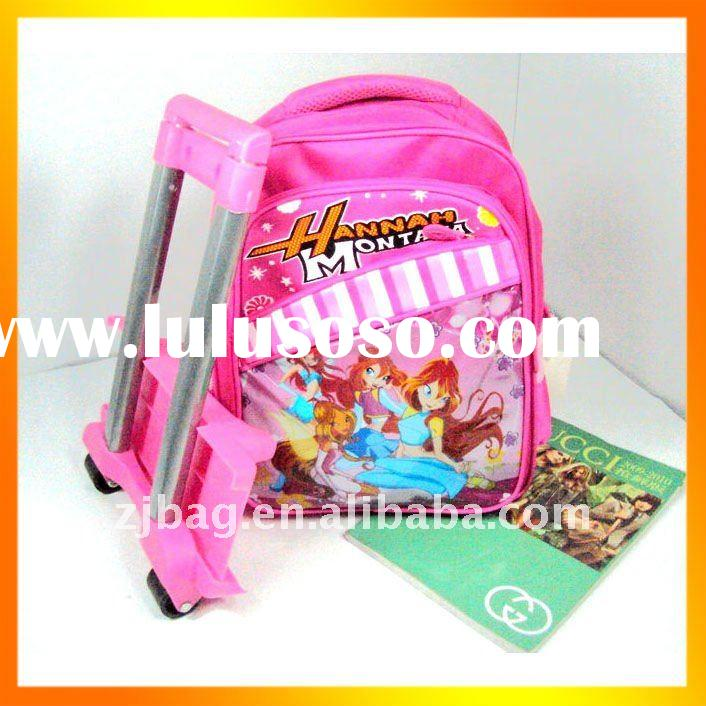 Wheeled Kids School Bags for Girls