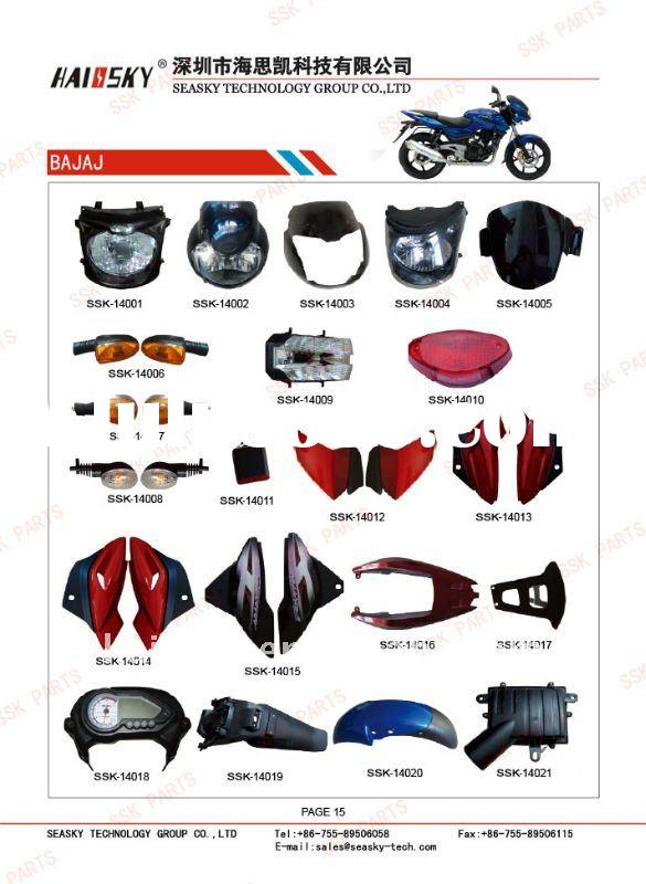 all of bajaj motorcycle spare parts
