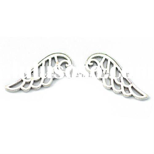 angel wings charm, wing charms,necklace charms, pendant, bracelet charms