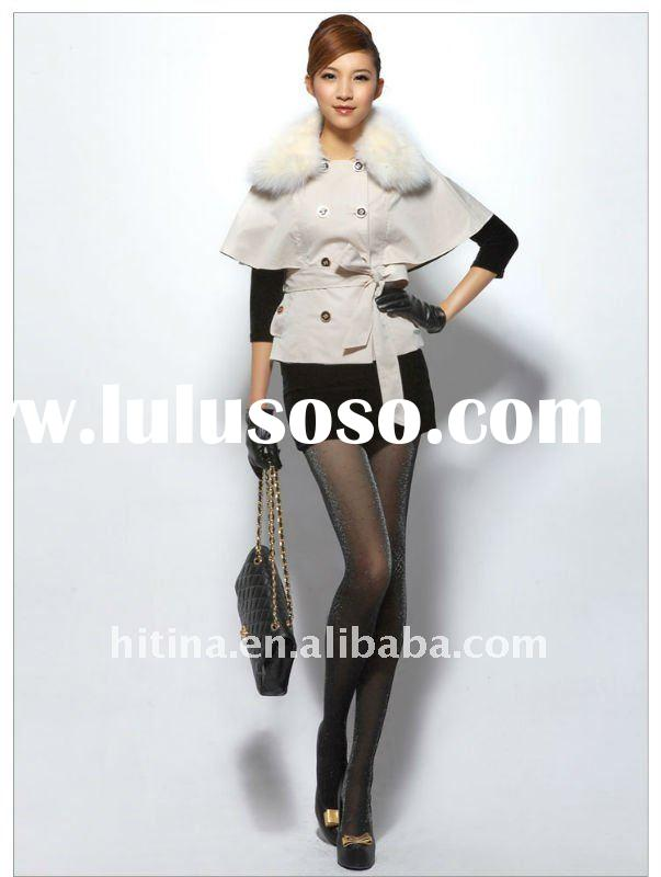 elegant ladies long coats,fashion coats 2012