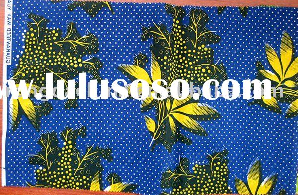 100% Cotton Real Wax Printed Fabric,African veritable wax,Batik