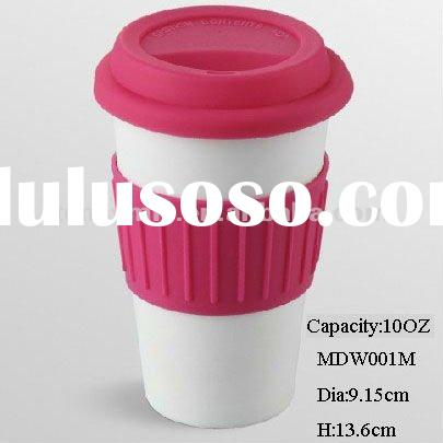 10OZ Double wall coffee cup and drinking cup