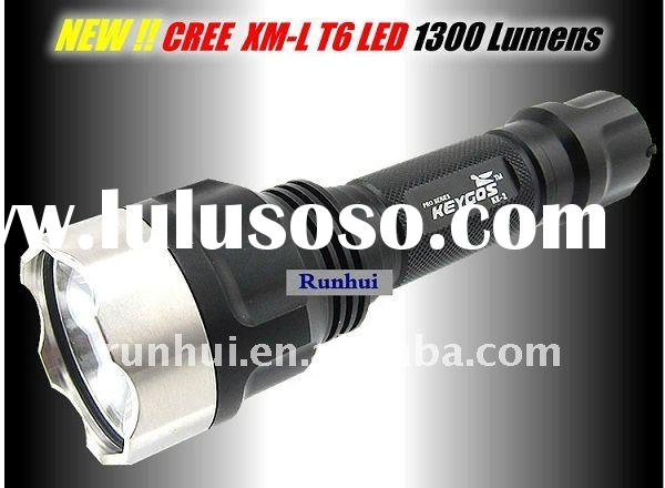 1300 Lumen Flashlight CREE XML T6 LED Lamp Torch KE2