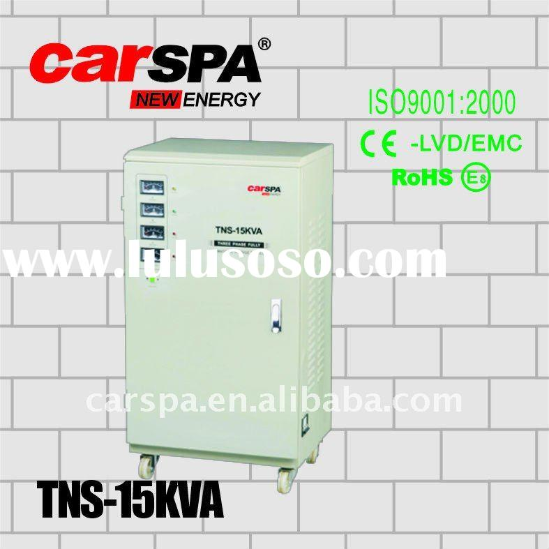 15KVA AC Servo motor Automatic Voltage Regulator with Meter display