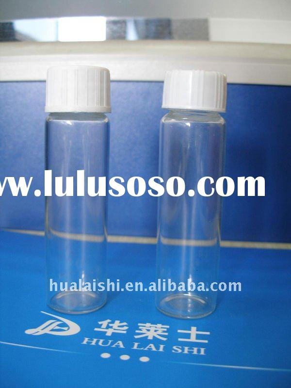 15ml pharmaceutical screw top glass bottle with cap