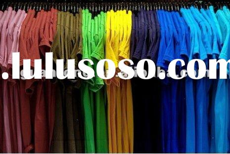 180gsm 100% cotton blank T-Shirts in various colors