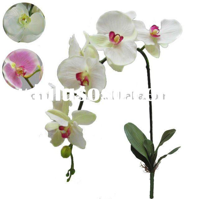 2011 beautiful plastic artificial orchid flower