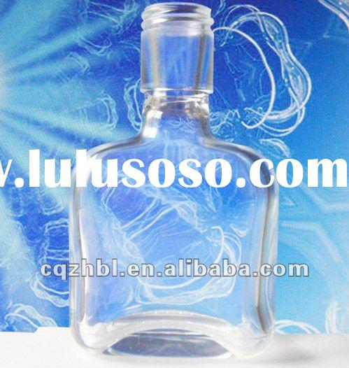2011 new 50ml mini bottle glass perfume glass bottle for diffusion perfume