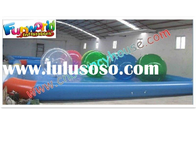 2012 Hot Sale Inflatable Pool with Inflatable Water Ball (POOL-38)