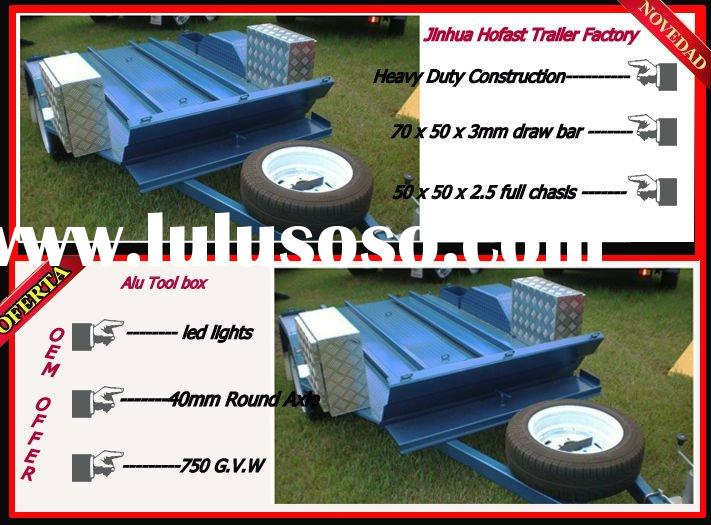 2012 New ATV Trailer with Aluminium tool box