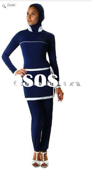 2012 New Arrivals Fashion Full Body Muslim Swimwear For Women