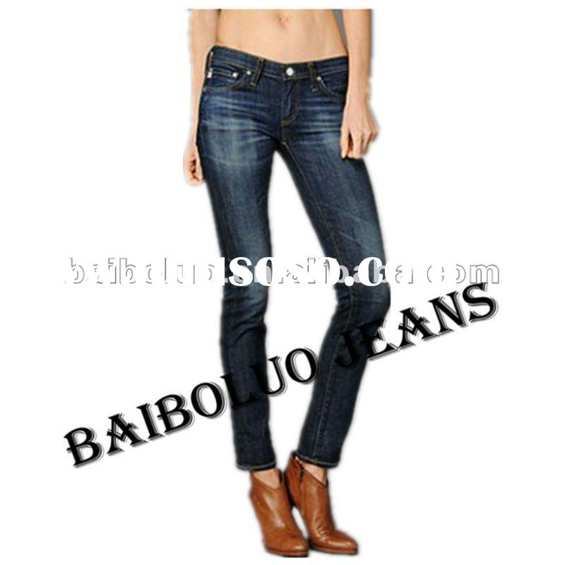 2012 New Style Fashion Women Jeans Wear Jeans Wholesale Price(GKCL006)