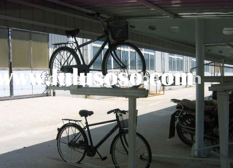 2012 new compelling best-sold double-deck stackable bike rack reviews ( ISO approved)