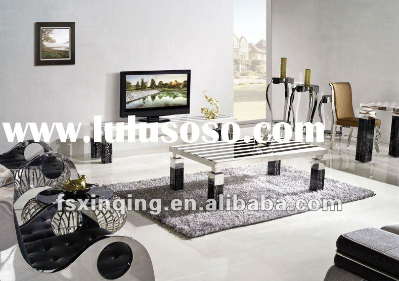 2012 new design living room marble top TV cabinet E328