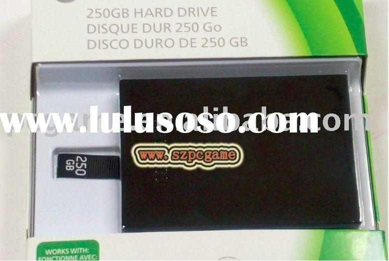 250GB Hard Disk Drive for Microsoft Xbox 360 Slim Consoles