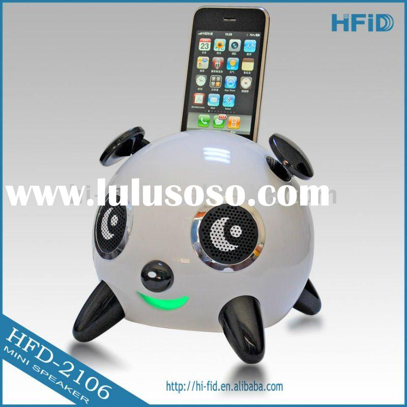 2.1 Mini Hi-fi Cartoon Panda Speaker for iPhone 4 / iPod ( iPanda Speaker )