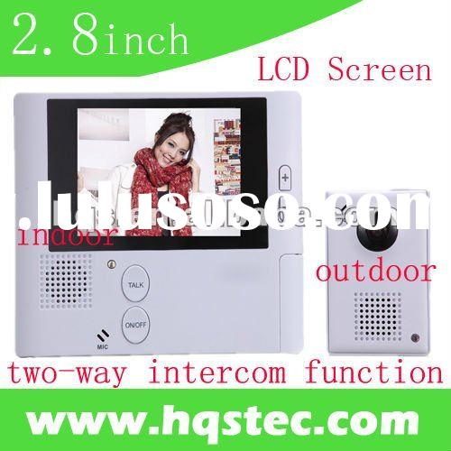 2.8inch LCD Screen digital door eye viewer with intercom function