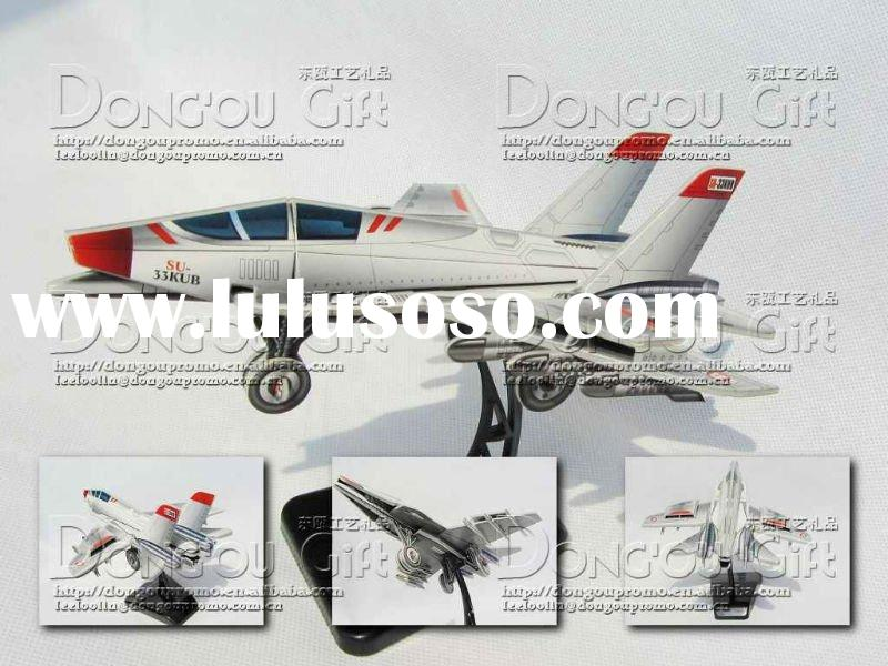 3D paper airplane model toy