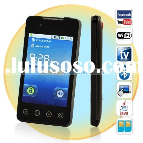 3.5 Inch Android 2.2 Quad Band Dual SIM Smartphone