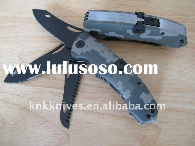 3 blade folding knife / three blade folding knife / folding hunting knife
