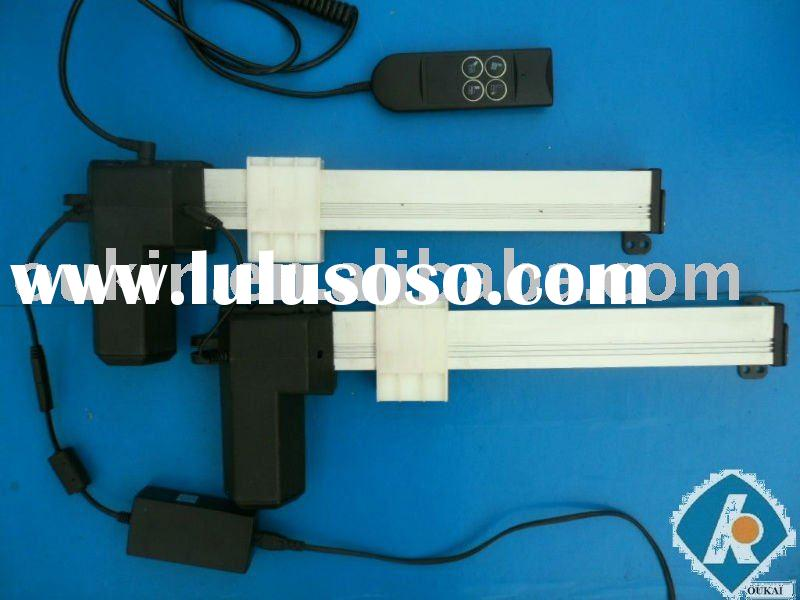 400mm stroke,300kgs froce,12V OK618 linear actuator gearbox motor for electric recliner chair and pe