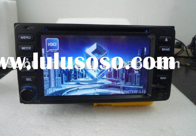 6.2'' Toyota car dvd radio for old hilux/ vios/ rav4, digital tv optional with best