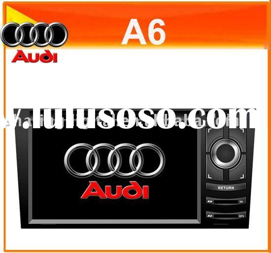 7'' HD Screen car DVD with Bluetooth Can bus box GPS USB For Audi A6 1998-2004