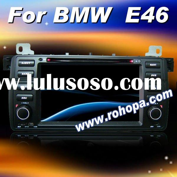 7inch digital touch screen 2 din car dvd player with bluetooth,gps,radio tuner For BMW E46 (1998-200