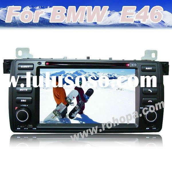 7inch digital touch screen oem car dvd player with bluetooth,gps,radio tuner For BMW E46 (1998-2005)
