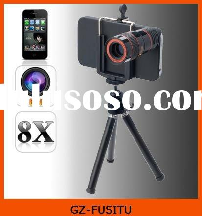 8x zoom lens for mobile phone iphone 4 4S