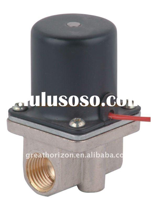 AV Model Brass Body Valve Straight-through Two-way Series Small Miniature Solenoid Valve AV21-01 Rc1