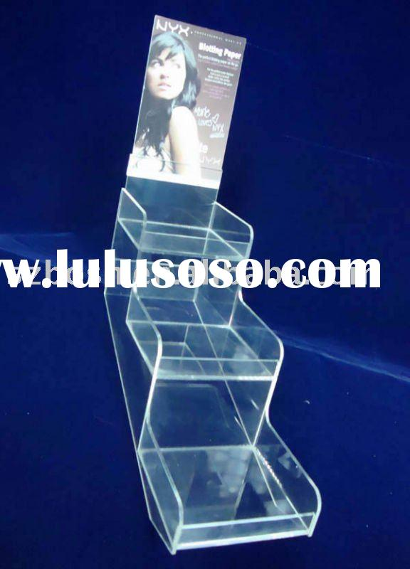 Acrylic Cosmetic Display,Perspex Cosmetic Stand,Plexiglass Cosmetic Organizer