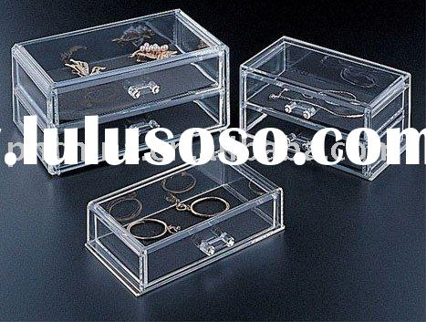 Acrylic Jewelry Display cases, acrylic jewellery display Stands LY-5570