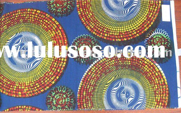 African 100% Cotton Real Wax Printed Fabric,veritable wax,Batik clothes