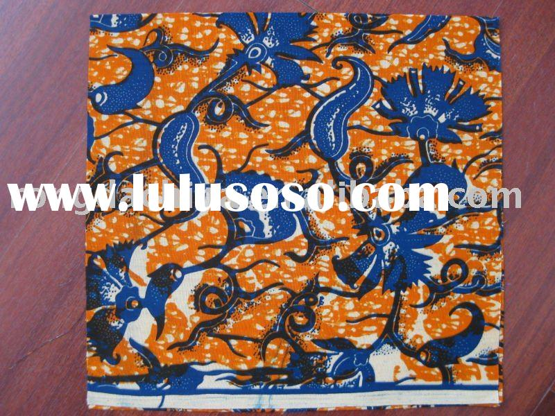 African real wax printed fabric,african clothes fabric,Batik,100% cotton veritable wax