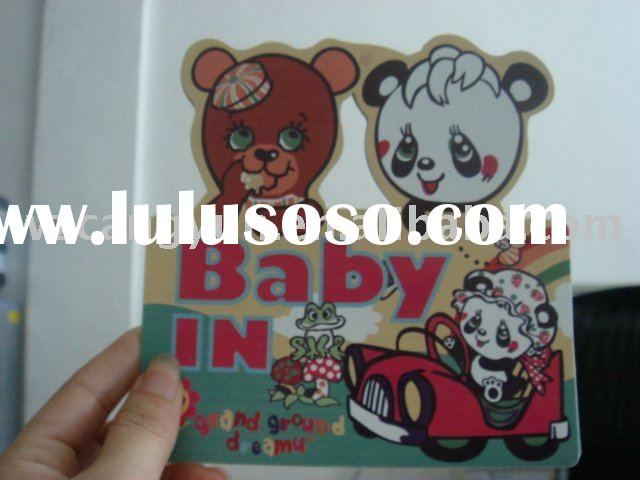 Baby in the Car Sticker