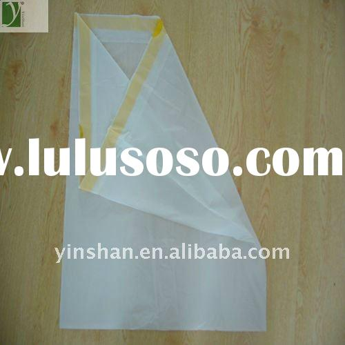 Biodegradable plastic drawstring clear bags with High quality