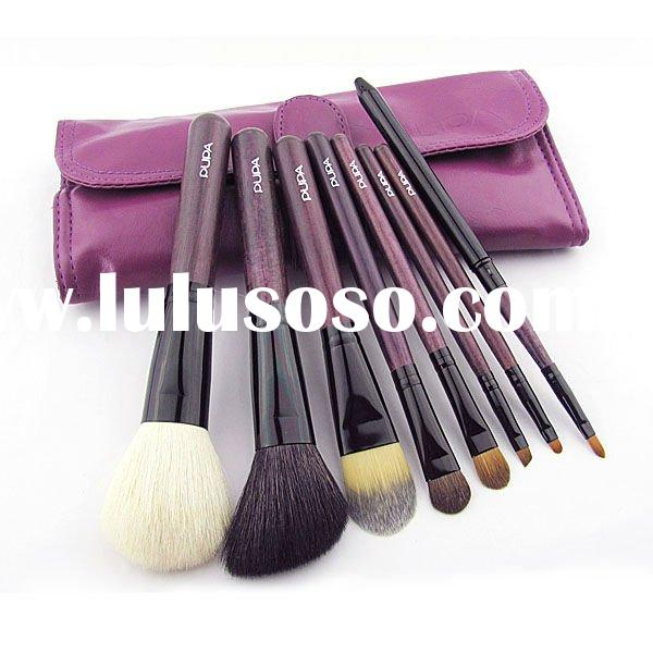 Brand New 8PCS Professional Makeup Brush Set + Brush Roll(TB020)