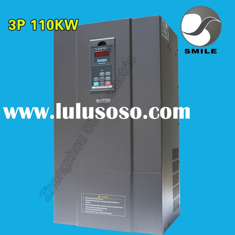 CE ROHS UL standards 3 phase 110KW ac motor speed controller
