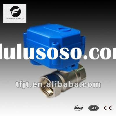 "CWX-15Q 1/2"" SS Motorized/Electric Ball Valve for HVAC,Drinking Water"