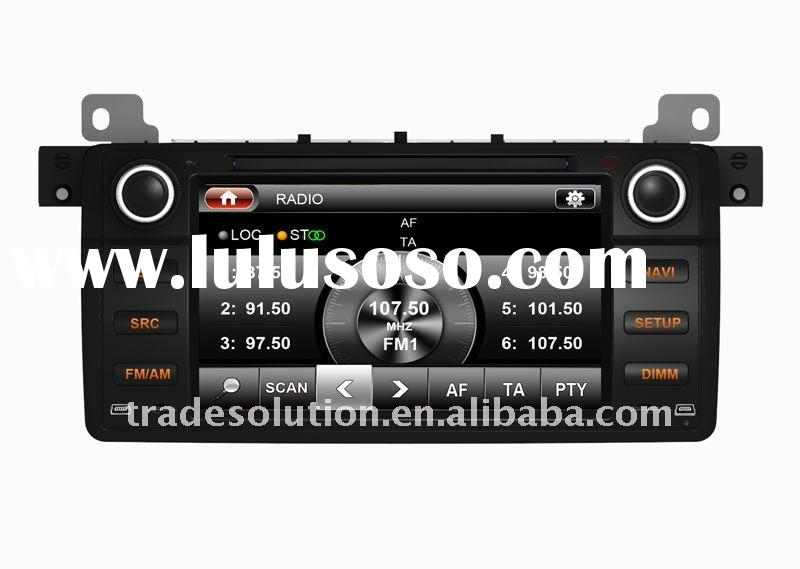 Car PC DVD Player with GPS 3G Bluetooth Phone book ipod RDS Digital Panel for BMW E46 3 Series