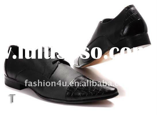 Classic leather men's shoes hot selling