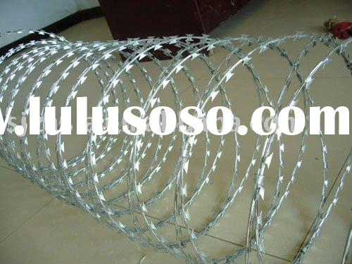 Concertina Barbed Wire Razor Tape