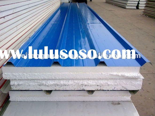 EPS sandwich panel(ROOF) for prefab hosue design