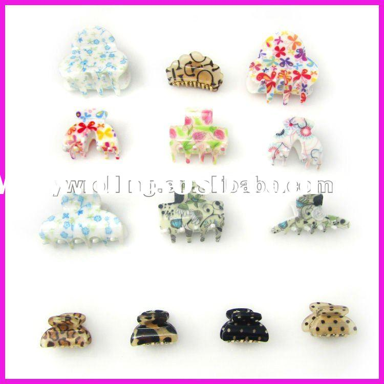 Fashion cheap acrylic hair accessories for women