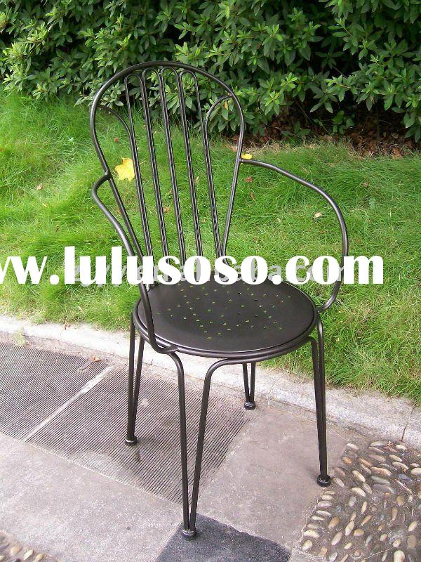 Garden Treasures Outdoor Patio Metal Bistro Chair