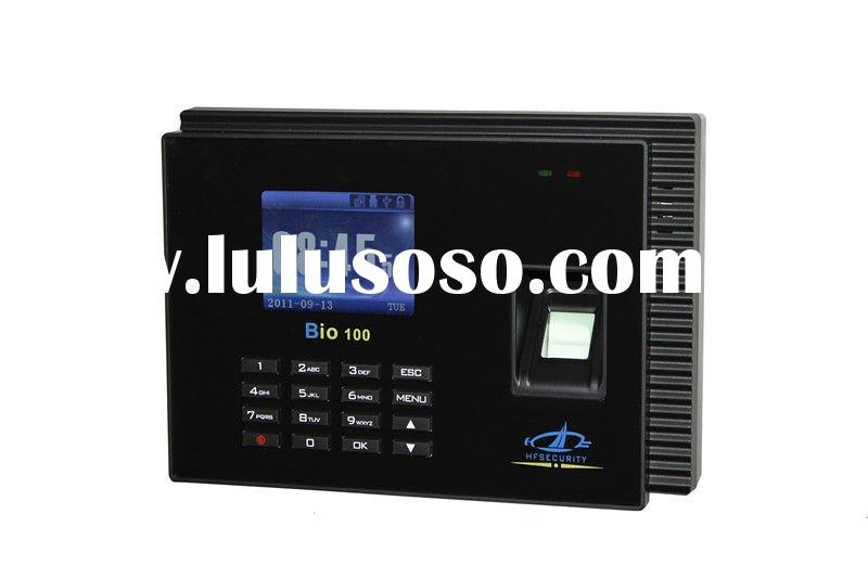 HF-Bio100 Working of Biometric Machine Fingerprint Time Attendance