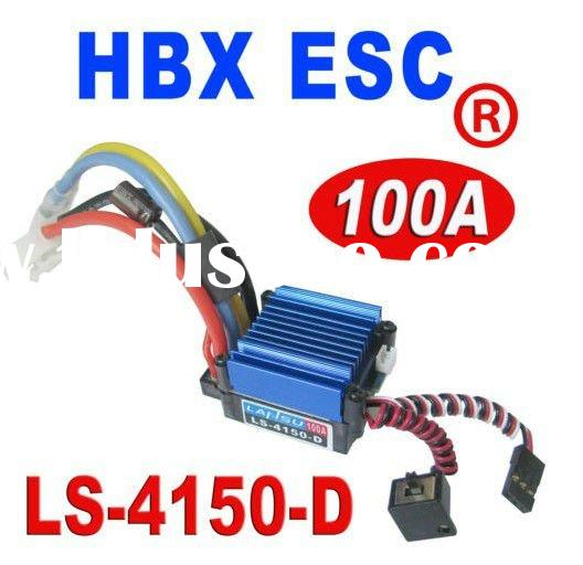 Haiboxing HBX 100A ESC Speed Controller LS-4150-D for 1/10 1/12 RC Car Truck
